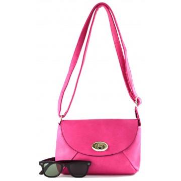 Růžová kabelka Alejandra, 560 Kč
